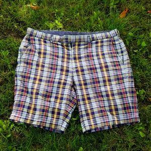 Madras Plaid shorts Brooks Brothers sz 40 Preppy